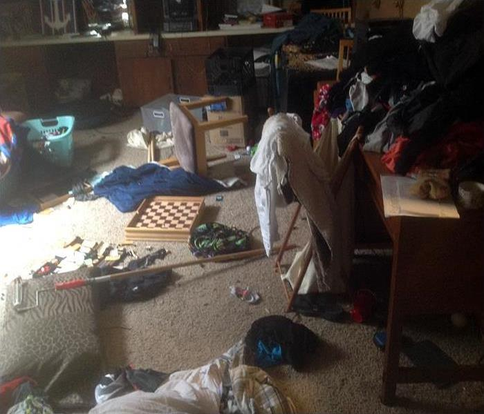 Hoarding Cleanup At Residential Property In Colorado Springs Before