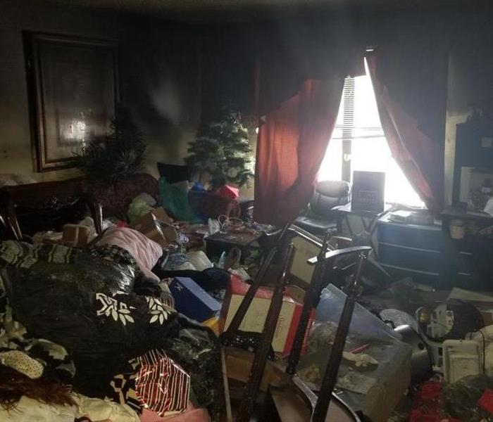 Fire Damage in Colorado Springs Before