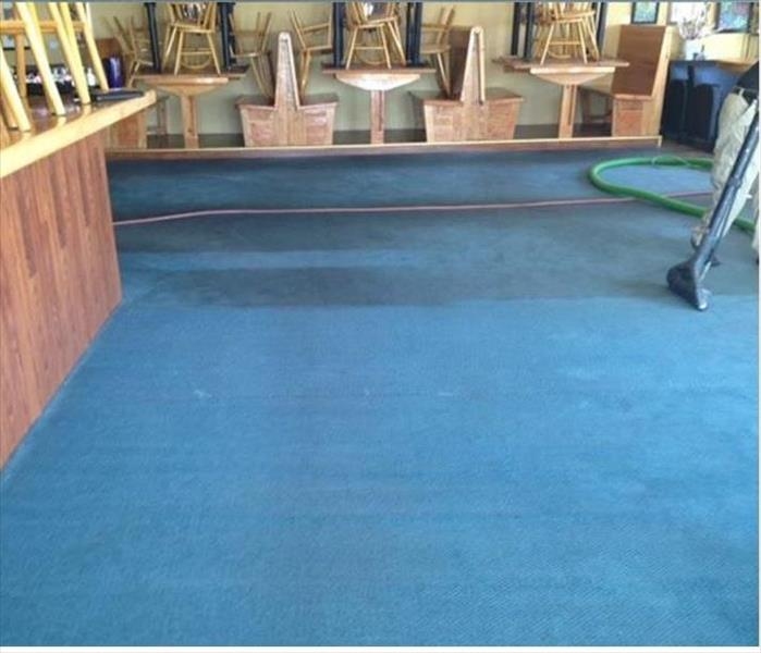 Commercial Carpet Cleaning in a Colorado Springs Bar & Grill