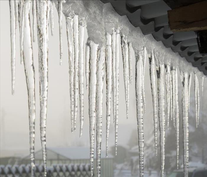 Water Damage Water Damage From Ice Dams:  A Springtime Problem In Colorado Springs
