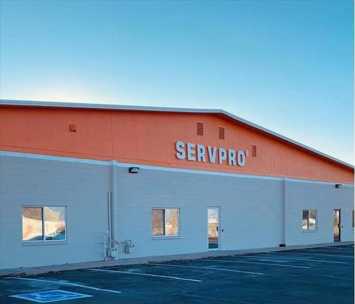 Picture taken of Servpro building