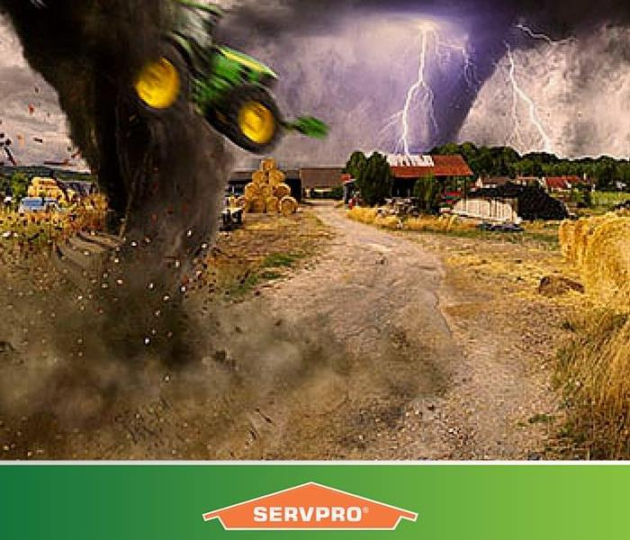 Storm Damage Servpro Of South Colorado Springs