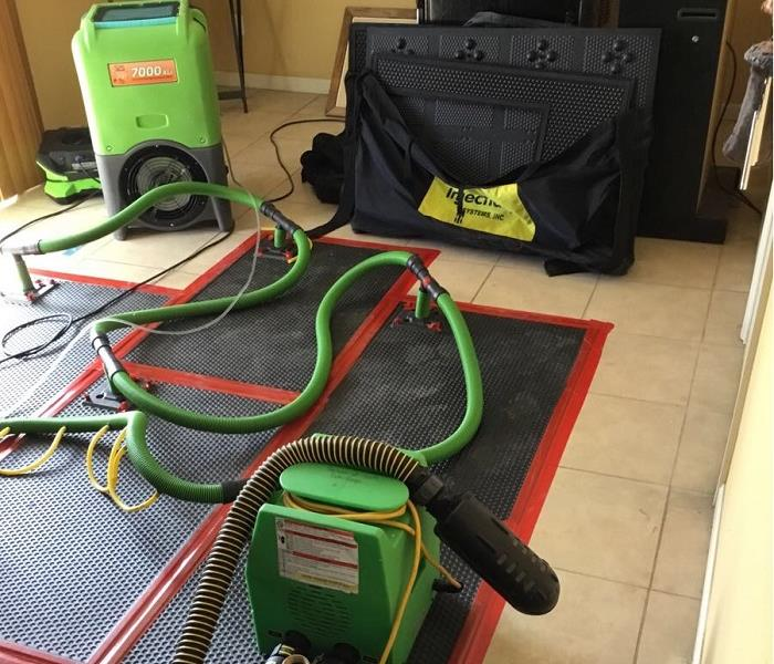 Why SERVPRO Let SERVPRO Extract the Water From Your Colorado Springs Home