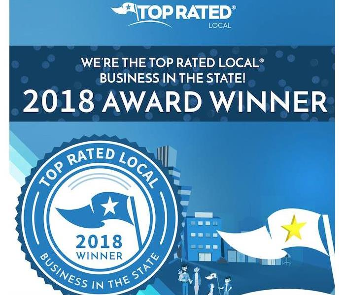 General Top Rated Local® Names SERVPRO of South Colorado Springs as a Highest Rated Company in Colorado