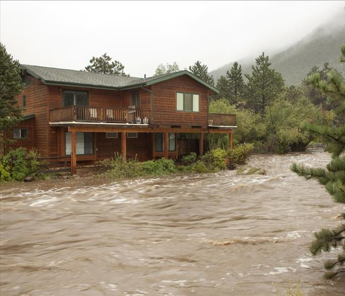 Why SERVPRO Security Area Properties Inundated with Flooding? Try Calling SERVPRO--We Answer the Phones!